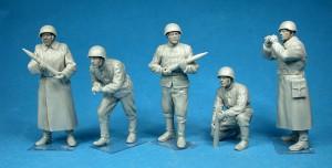 Photos 35185ソビエト軍重砲兵隊クル-フィギュア5体入