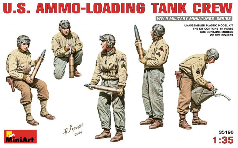 35190 U.S. AMMO-LOADING TANK CREW