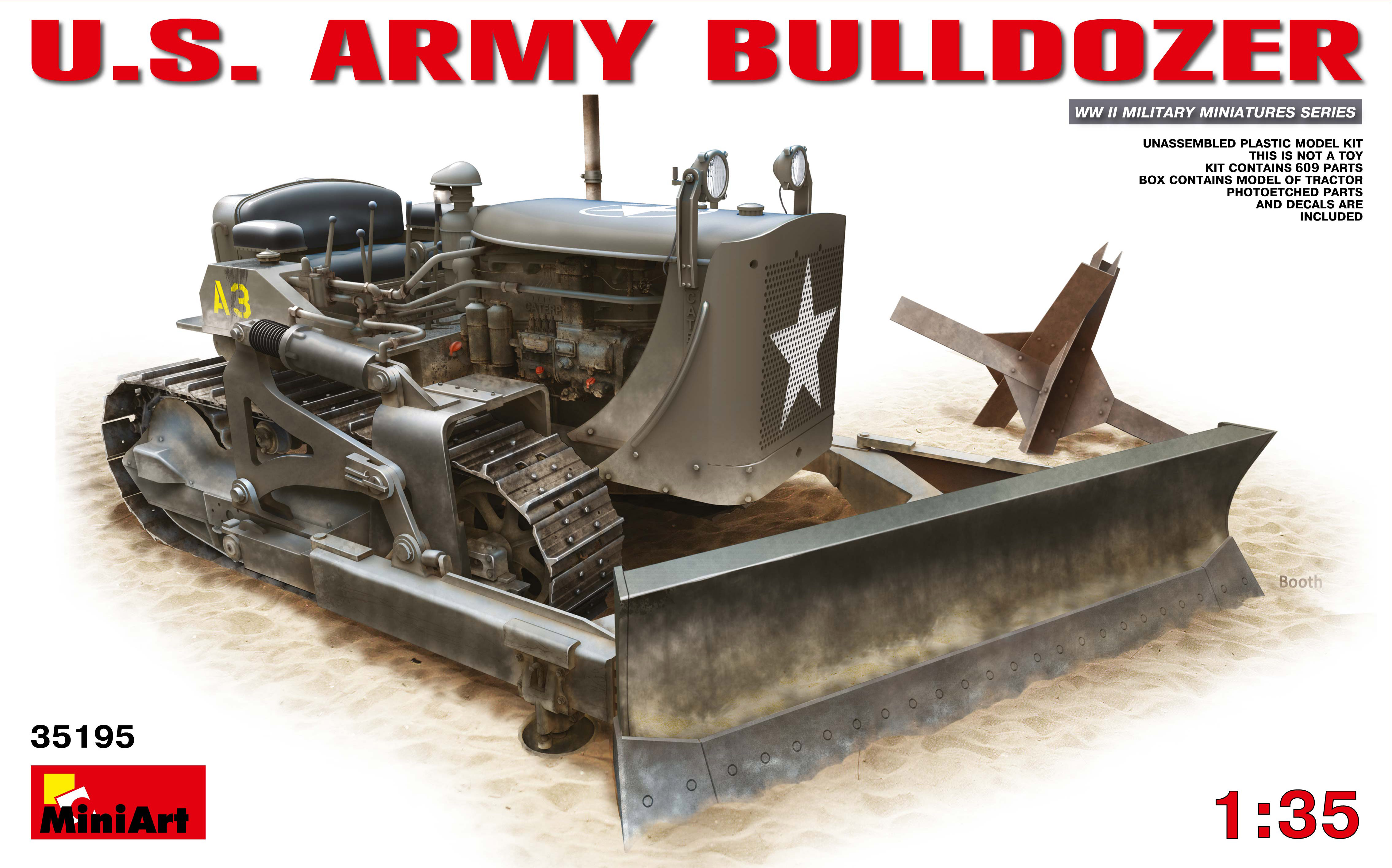 35195 アメリカ陸軍ブルドーザー