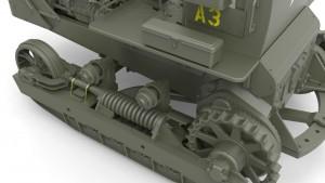 3D renders 35195 アメリカ陸軍ブルドーザー
