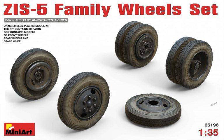 35196 ZIS-5 Family WHEELS SET