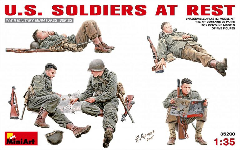 35200 U.S. SOLDIERS AT REST