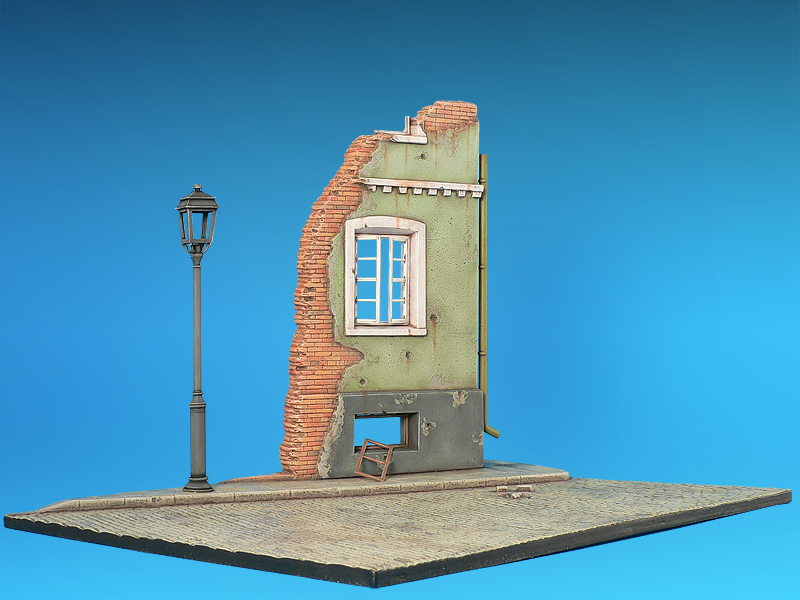 36001 STREET w/RUINED HOUSE