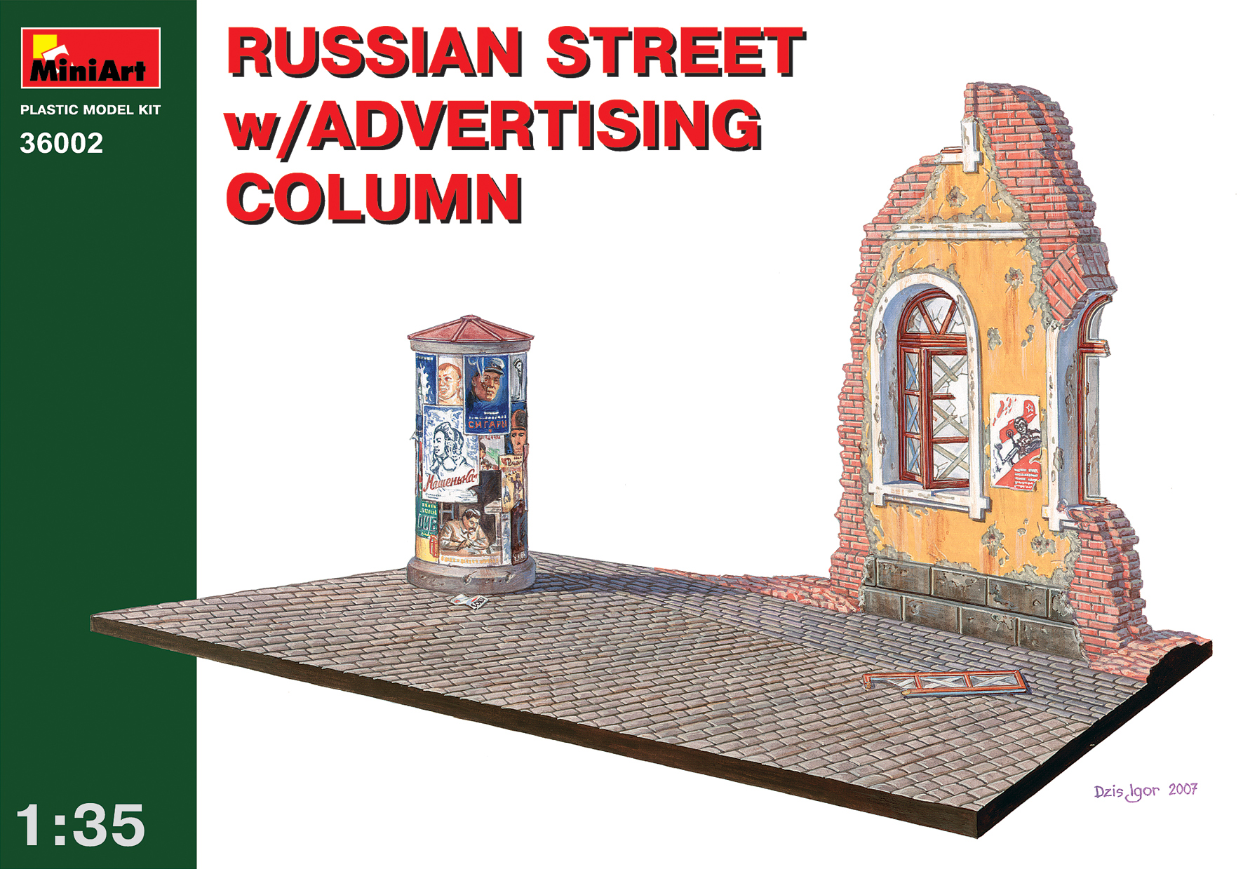 36002 RUSSIAN STREET w/ADVERTISING COLUMN