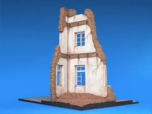 Photos 36012 DIORAMA w/RUINED HOUSE