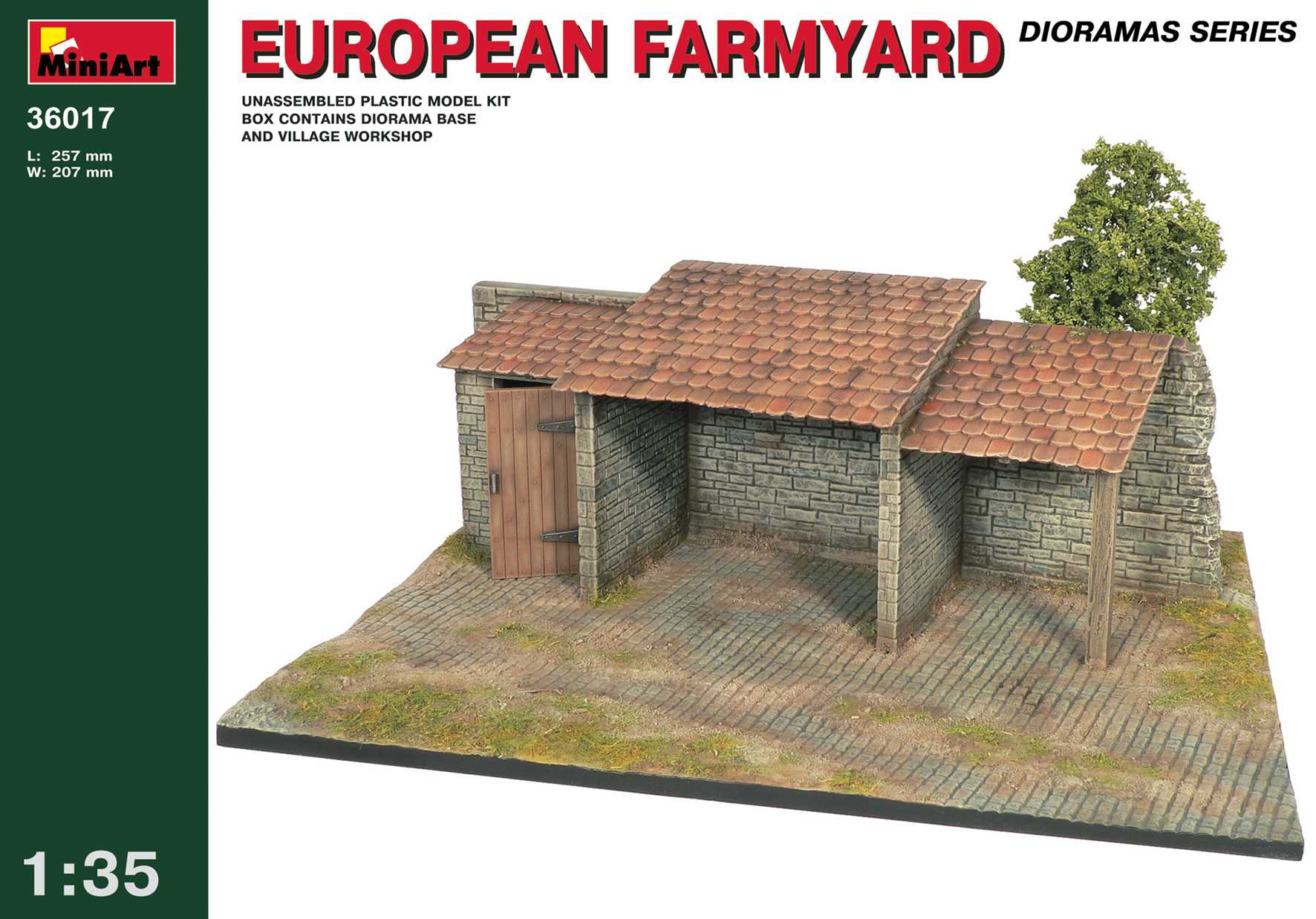 36017 EUROPEAN FARMYARD