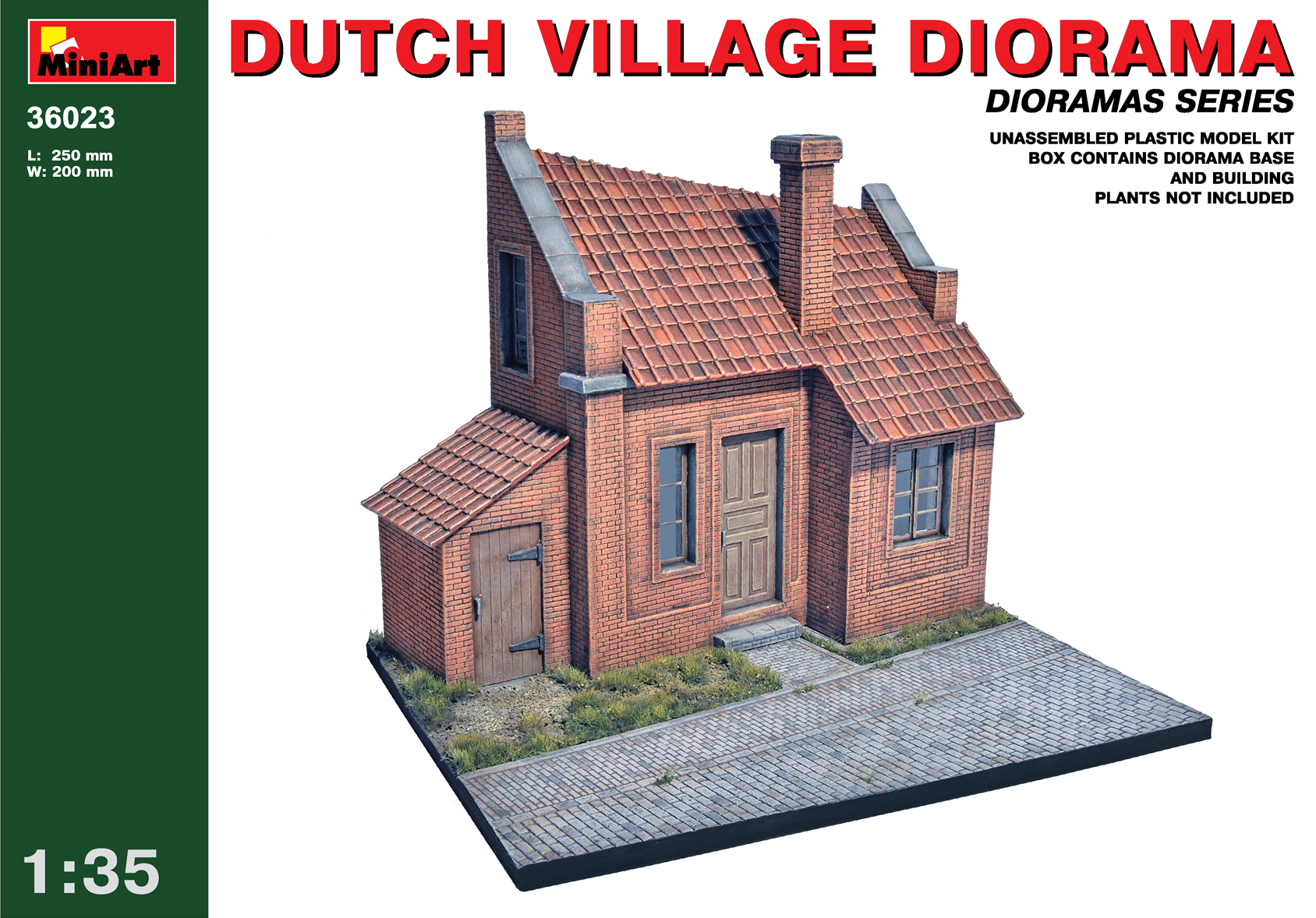 36023 DUTCH VILLAGE DIORAMA