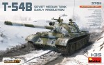 37011 T-54B SOVIET MEDIUM TANK. EARLY PRODUCTION. INTERIOR KIT