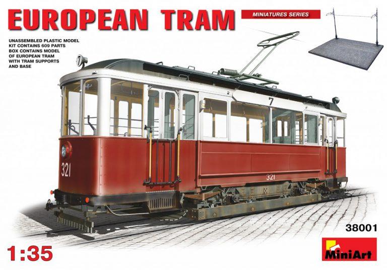 38001 EUROPEAN TRAM
