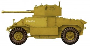 Side views 35155 AEC Mk.II ARMOURED CAR