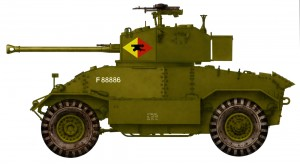 Side views 35159 AEC Mk.III ARMOURED CAR
