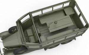 3D renders 35156 GAZ-05-193 STAFF BUS