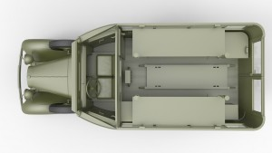 3D renders 35164 GAZ-05-194 САНИТАРНЫЙ АВТОБУС