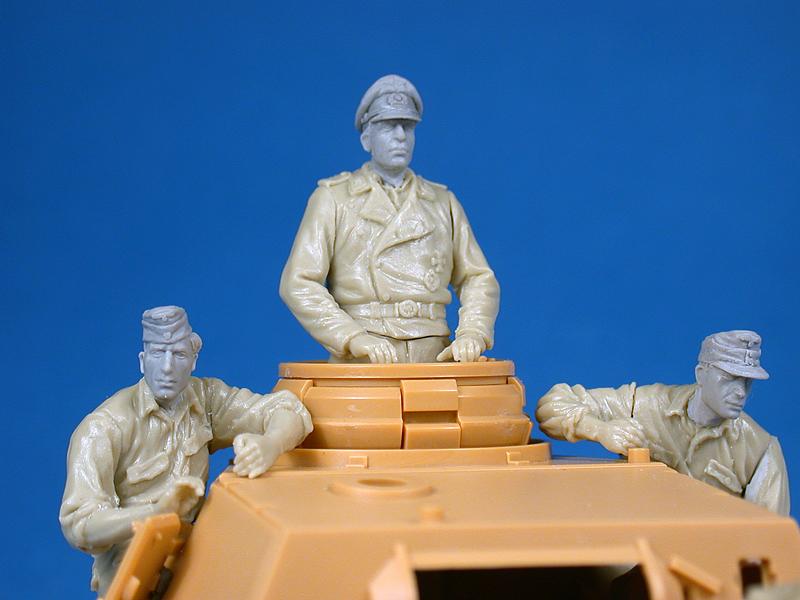 35167ドイツ戦車兵フィギュア6体入