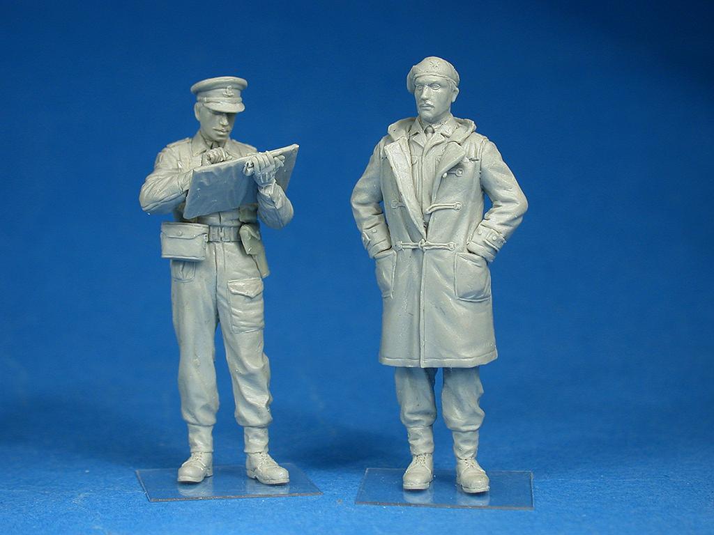 35165イギリス士官フィギュア5体入