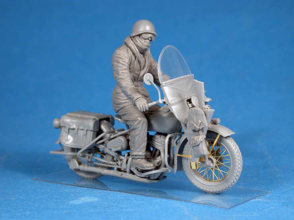 35172 U.S. MOTORCYCLE WLA w/RIDER