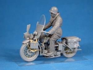 Photos 35172 二战美军摩托和骑士