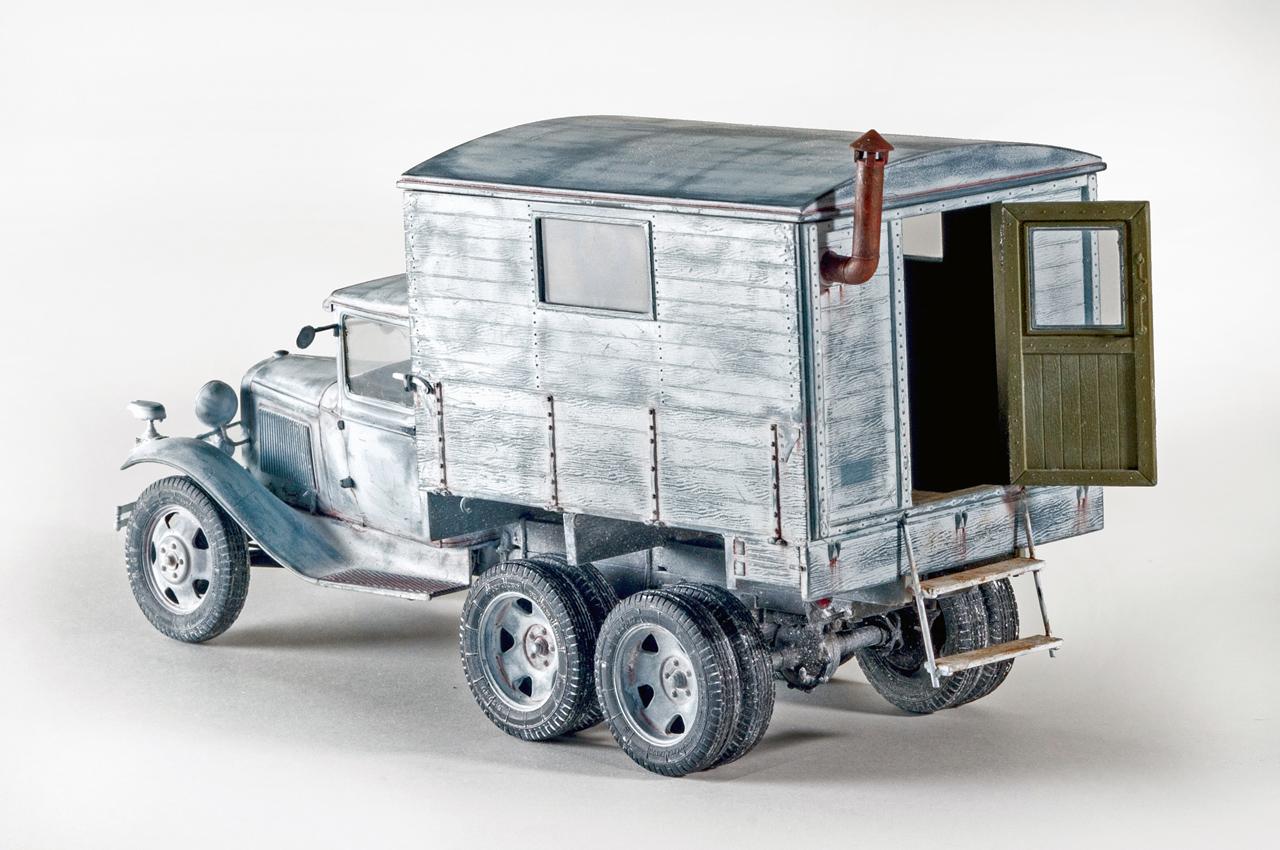 35183 GAZ-AAA w/Shelter