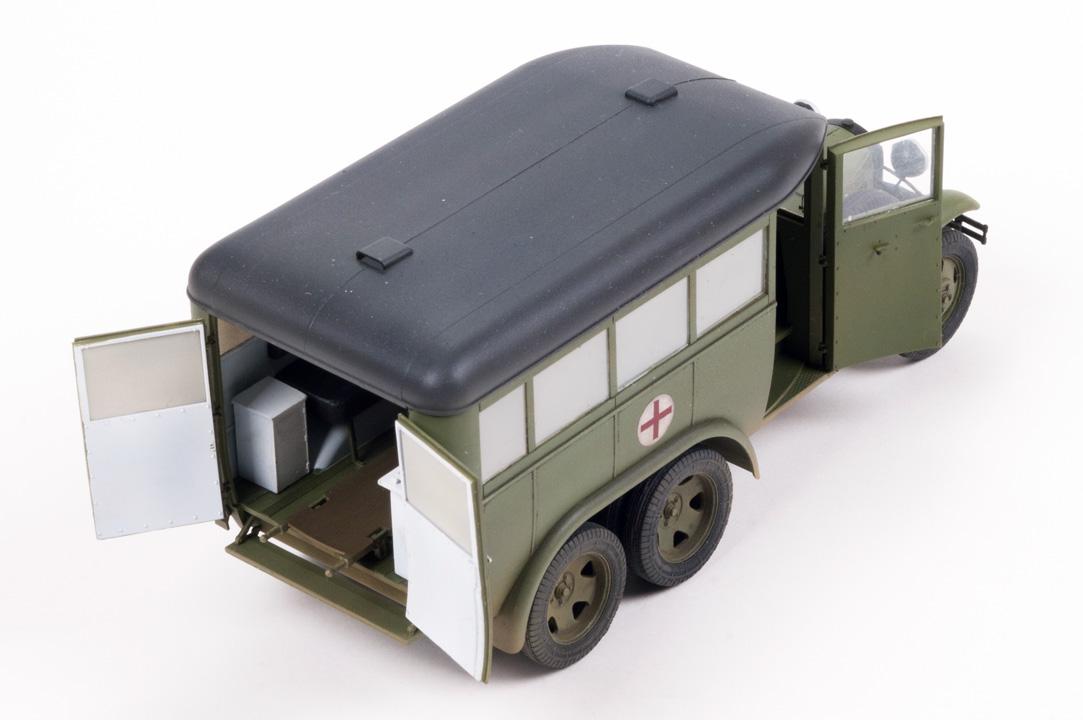 35164 GAZ-05-194救急車