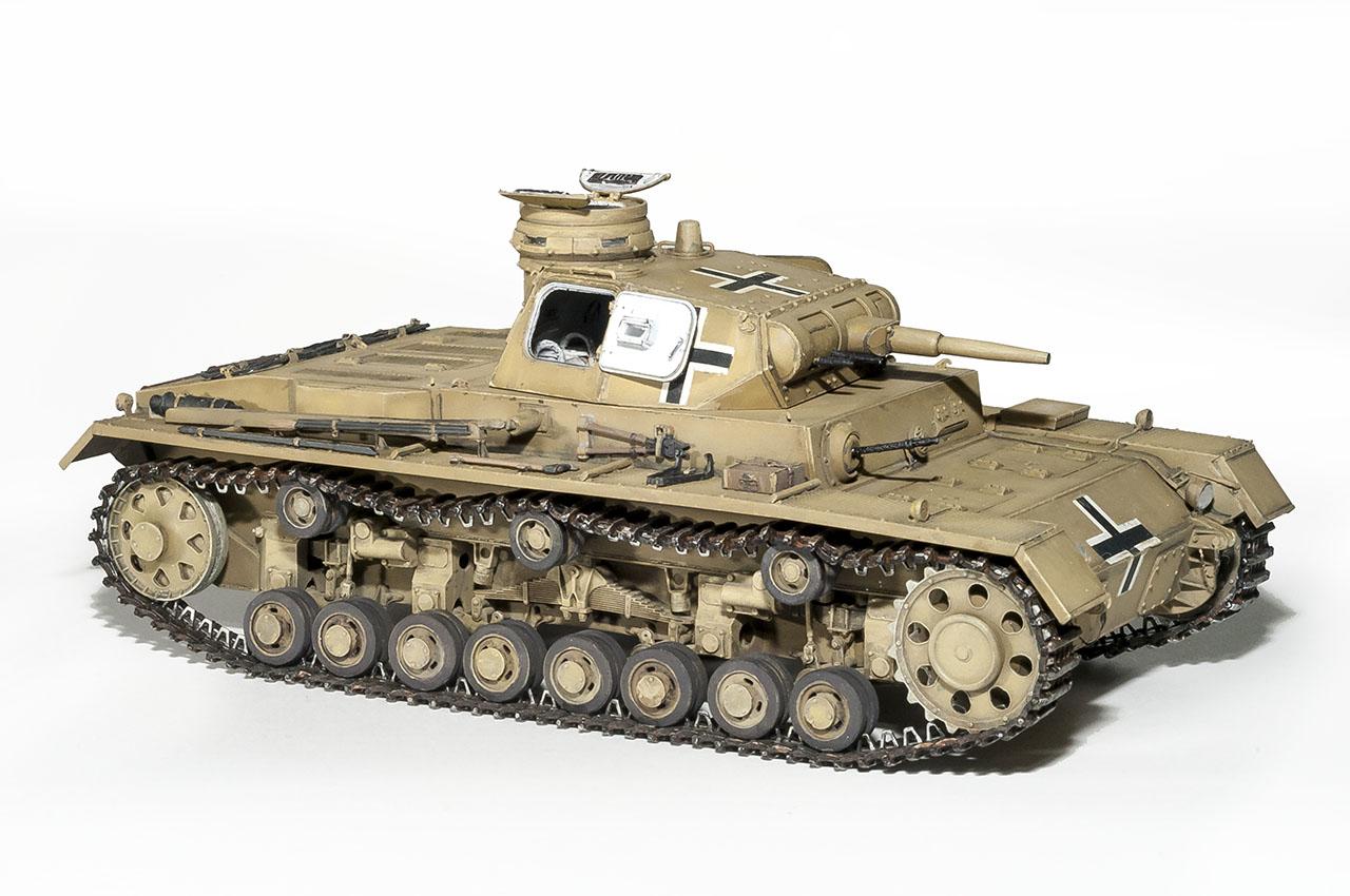 35166 Pz.Kpfw.III Ausf.С (中等坦克)