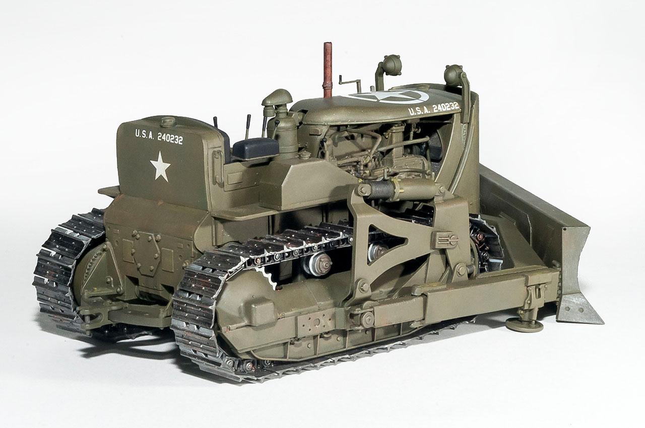 35195 U.S. ARMY BULLDOZER