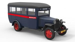 3D renders 38005   平民巴士 GAZ-03-30
