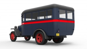 3D renders 38005 PASSENGER BUS GAZ-03-30