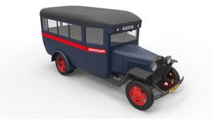 3D renders 38005 Busreisende GAZ-03-30