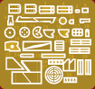 Content box 35177 ГРУЗОВОЙ АВТОМОБИЛЬ ГАЗ-AAA CО СЧЕТВЕРЕННЫМ ПУЛЕМЕТОМ МАКСИМ М4