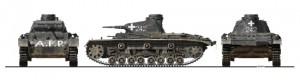 Side views 35169 Средний танк Pz.III Ausf D
