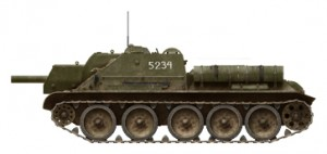 Side views 35175 SU-122 INITIAL PRODUCTION.  INTERIOR KIT
