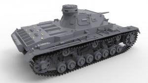 3D renders 35166 Pz.Kpfw.III Ausf.С