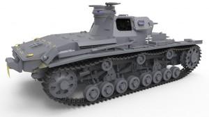 3D renders 35169 Pz.Kpfw.III Ausf.D