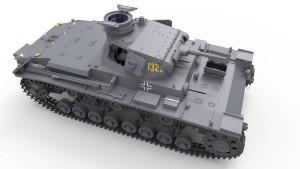 3D renders 35169 Средний танк Pz.III Ausf D