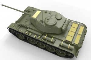 3D renders 35193 T-44ソビエト中戦車