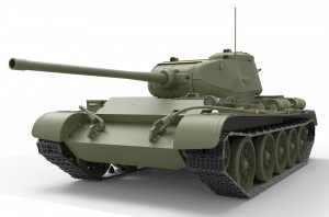 3D renders 35193 苏联T-44 中型坦克