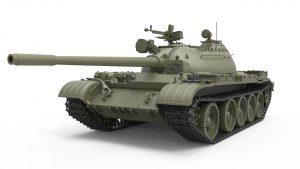 3D renders 37011   T-54B苏联中型坦克(早期生产) 内构