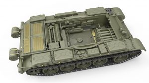 3D renders 37011 T-54B SOVIET MEDIUM TANK. EARLY PRODUCTION. INTERIOR KIT