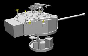 3D renders 35159 AEC Mk.III 裝甲車輛