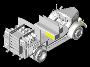 3D renders 35171 ドイツ消防車L1500S LF8w/TSA