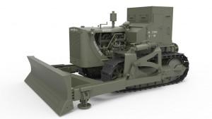 3D renders 35188 U.S. GEPANZERTE PLANIERRAUPE