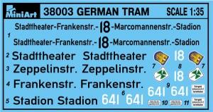 Content box 38003 GERMAN TRAMCAR 641 (Straßenbahn Triebwagen 641)