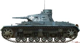 Side views 35162 Pz.Kpfw.III Ausf.B