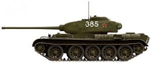 Side views 35193 T-44 SOVIET MEDIUM TANK