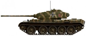 Side views 35193 T-44 SOVIET MEDIUM TANK
