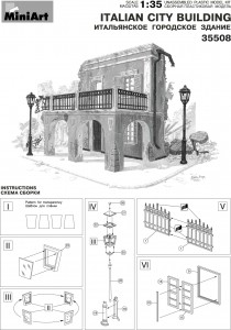 Content box 35508 ITALIAN CITY BUILDING
