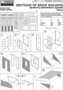 Content box 35552 SECTIONS OF BRICK BUILDINGS