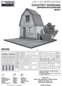 Content box 36031 VILLAGE HOUSE w/BASE