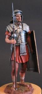 16007 ROMAN LEGIONARY. II CENTURY A.D. + 16009 FRENCH MUSKETEER. XVII CENTURY