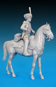 Photos 16033ウエストファ-レン騎兵連隊1813トランペット奏者